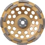 Makita A-96213 7 Inch Anti-Vibration Diamond Cup Wheel, Double Row 12 Segment