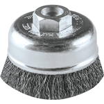 Makita A-98382 3 in. Crimped Wire Cup Brush, M10 x 1.25