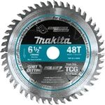 Makita A-98809 6‑1/2 in. 48T Carbide‑Tipped Cordless Plunge Saw Blade