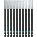 Makita A-99297 ImpactX 6 Inch Magnetic Insert Bit Holder, 10 Pack, Bulk