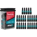 Makita A-99764 ImpactX #2 Phillips Drywall 1 Inch Insert Bit, 25 Pack