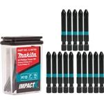 Makita A-99786 ImpactX 2 Phillips 2 in. Power Bit 15pk