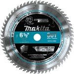 Makita A-99954 6‑1/2 in. 60T Carbide‑Tipped Ultra‑Thin Kerf Saw Blade, Aluminum