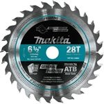 Makita A-99960 6-1/2 in 28T Cordless Plunge Saw Blade
