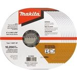 Makita B-12653-10 .6x7-8 in. INOX Thin Cut-Off Wheel 10pk