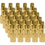 Makita B-44747 Impact Number-2 Square Insert Bit (25 Pack), Gold