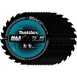 Makita B-61656-10 7-1/4 in. 24T Carbide‑Tipped Ultra‑Thin Kerf Framing Blade 10pk