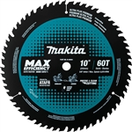 Makita B-66961 10 in. 60T Carbide-Tipped Max Efficiency Miter Saw Blade