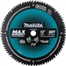 Makita B-66999 12 in. 80T Carbide-Tipped Max Efficiency Miter Saw Blade