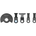 Makita B-67197 5 Pc. Starlock Oscillating Blade Set