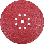 Makita B-68535 9 in. Round Abrasive Disc, Hook and Loop, 40 Grit, 25 Pack