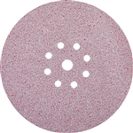 Makita B-68557 9 in. Round Abrasive Disc, Hook and Loop, 120 Grit, 25 Pack