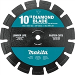 Makita B-69652 10 in. Diamond Blade, Segmented, Dual Purpose