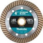 Makita B-69696 4-1/2 in. Diamond Blade, Turbo, General Purpose