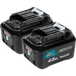 Makita BL1041B-2 12V max CXT™ Lithium-Ion 4.0Ah Battery, 2 Pack