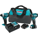 Makita CT231R 12V MAX Lithium Ion Cordless 2 pc. Combo Kit 2.0 Ah