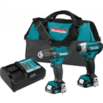 Makita CT232 12V MAX CXT Cordless Combo Kit 2pc 1.5Ah