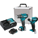 Makita CT232RX 12V MAX CXT Cordless 2pc Combo Kit 2.0 Ah Kit