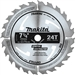 Makita D-45989 7-1/4 in. 24T Carbide Tip Circular Saw Blade, Framing/General Purpose