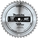 Makita D-65458 10 in. 40T Polished Miter Saw Blade, General Purpose