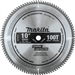 Makita D-65486 10 in. 100T Micro-Polished Miter Saw Blade, Ultra Fine Crosscutting