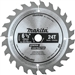 Makita D-67022 6-1/2 in. 24T Carbide-Tipped Circular Saw Blade, General Purpose