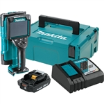 Makita DWD181R1J 18V LXT Lithium Ion Cordless Multi Surface Scanner Kit (2.0Ah) with Interlocking Storage Case