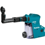 Makita DX08 Dust Extractor Attachment with HEPA Filter Cleaning Mechanism