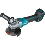 Makita GAG03Z 40V max XGT Brushless Cordless 4-1/2 in. / 5 in. Paddle Switch Angle Grinder, with Electric Brake, Tool Only