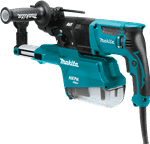 "Makita HR2651 1"" Rotary Hammer w/HEPA Dust Extractor"