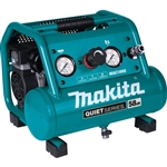 Makita MAC100Q Quiet Series, 1/2 HP, 1 Gallon Compact, Oil Free, Electric Air Compressor