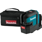 Makita SK105DZ 12V MAX CXT Lithium‑Ion Cordless Self‑Leveling Cross‑Line Red Beam Laser, Tool Only