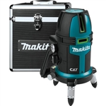 Makita SK209GDZ 12V max CXT Lithium‑Ion Cordless Self‑Leveling Multi‑Line/Plumb Point Green Beam Laser, Tool Only
