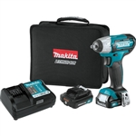 Makita WT02R1 12V MAX CXT Lithium‑Ion Cordless 3/8 in. Impact Wrench Kit (2.0Ah)