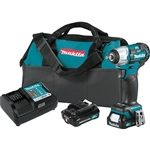 Makita WT05R1 12V MAX CXT Lithium-Ion Brushless Cordless 3/8 in. Square Drive Impact Wrench Kit 2.0 Ah