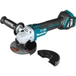 Makita XAG17ZU 18V LXT Lithium‑Ion Brushless Cordless 4‑1/2 in. - 5 in. Cut‑Off Angle Grinder with Electric Brake and AWS