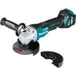 Makita XAG20Z 18V LXT Lithium-Ion Brushless Cordless 4-1/2 in. / 5 in. Paddle Switch Cut-Off/Angle Grinder, with Electric Brake, Tool Only