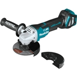 Makita XAG21ZU 18V LXT Lithium‑Ion Brushless 4‑1/2 in. - 5 in. Paddle Switch Cut‑Off/Angle Grinder, Electric Brake and AWS Tool