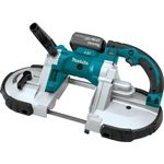 Makita XBP02TX 18 Volt LXT Lithium-Ion Cordless Portable Band Saw Kit, 5.0 Ah