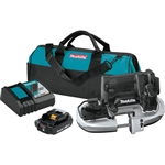 Makita XBP05R1B 18-Volt LXT Lithium-Ion Sub-Compact Brushless Cordless Band Saw Kit (2.0Ah)
