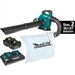 Makita XBU04PTV 18V X2 (36V) LXT Lithium‑Ion Brushless Cordless Blower Kit with Vacuum Attachment Kit (5.0Ah)