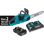 Makita XCU04PT 18V 16 in. Chainsaw Kit 5.0 Ah