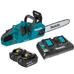 Makita XCU07PT 18V X2 (36V) LXT Lithium‑Ion Brushless Cordless 14 in. Chain Saw Kit (5.0Ah)