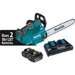 Makita XCU09PT 18V X2 (36V) LXT Lithium-Ion Brushless Cordless 16 in. Top Handle Chain Saw Kit (5.0Ah)