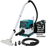 Makita XCV04Z 18-Volt X2 LXT Lithium-Ion (36V) Cordless/ Corded 2.1 Gallon Dry Vacuum (Tool Only)