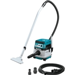 Makita XCV08Z 18V X2 LXT Lithium‑Ion (36V) Brushless Cordless 2.1 Gallon HEPA Filter Dry Dust Extractor/Vacuum AWS Tool Only