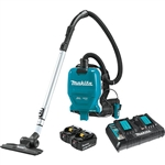 Makita XCV09PT 18V X2 LXT Lithium‑Ion (36V) Brushless Cordless 1/2 Gallon HEPA Filter Backpack Dry Vacuum Kit (5.0Ah)