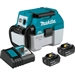 Makita XCV11T 18V LXT Lithium‑Ion Brushless Cordless 2 Gallon HEPA Filter Portable Wet/Dry Dust Extractor/Vacuum Kit (5.0Ah)