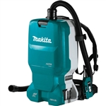 Makita XCV18ZX 18V X2 (36V) LXT Lithium Ion Brushless Cordless 1.6 Gallon HEPA Filter Backpack Dry Dust Extractor, Tool Only