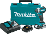 Makita XDT13R 18V LXT� Lithium-Ion Compact Brushless Cordless Impact Driver Kit (2.0Ah)